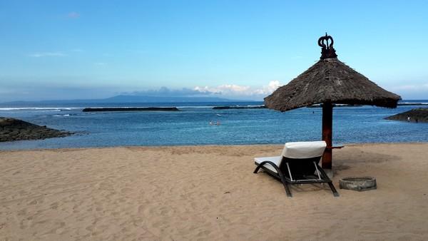 Bali plage : la péninsule, Jimbaran, Bukit, Nusa Dua. La plage du Club Med