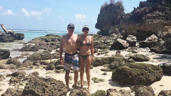 Bali plage : la péninsule, Jimbaran, Bukit, Nusa Dua. Thierry et Valérie