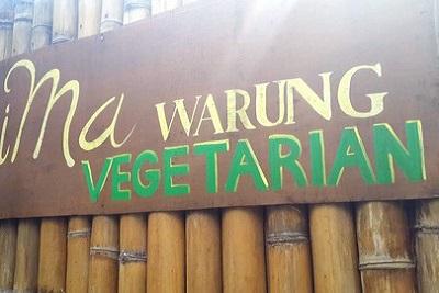 Bons plans à Bali : le warung, brasserie façon asiatique. Warung végé