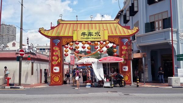 Singapour : Clarke Quay, Fort Canning, . Le quartier de Chinatown