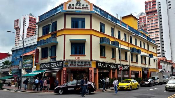 Dernier jour à Singapour : de découvertes en amitié. Hôtel à Little India