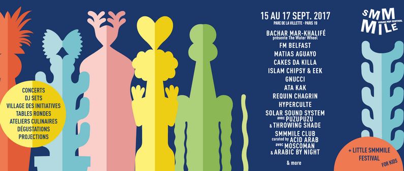 SMMMILE Vegan Pop Festival: bon son, bon sens, bonne cuisine ! Smmmile 2017