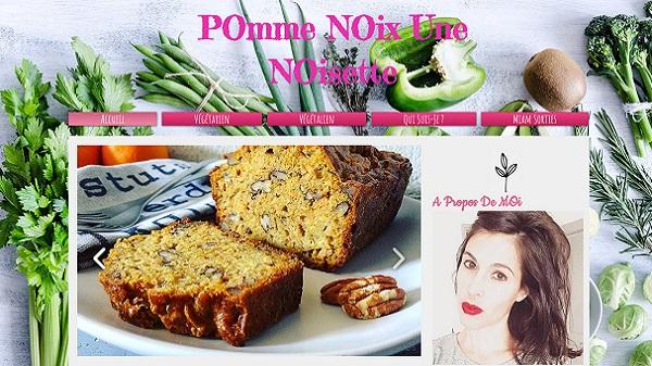 Pomme Noix Une Noisette, le blog culinaire de Pauline