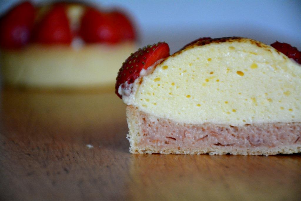 27. fraises chiboust coupe
