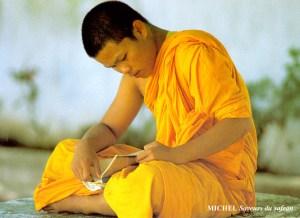 moine-bouddhiste-safran