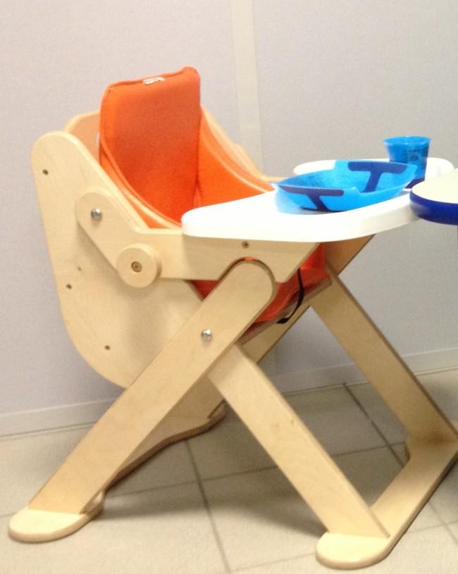 chaise mi haute compacte