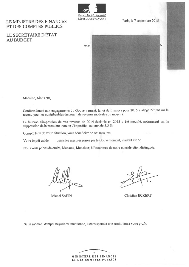 Lettre-Michel-Sapin-ministre-Finances-Comptes-publics-Christian-Eckert-secrétaire-dÉtat-Budget