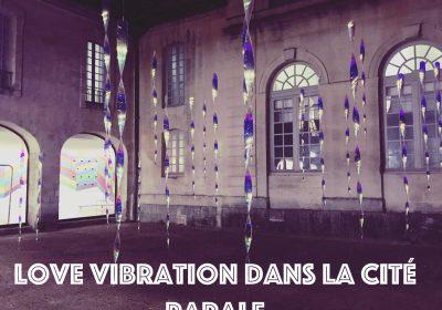 love vibration dans la cité papale