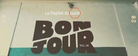 couverture article musique : « Sur les platines du sac Vol.18» est une playlist de musique 2021. Avec Dengue Dengue Dengue, Quinze Quinze, Hoorses, My ugly clementine etc