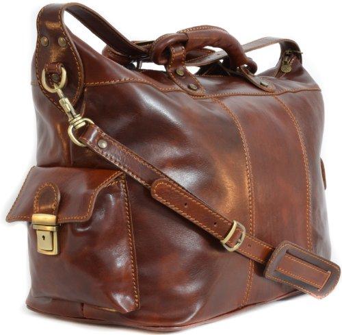 sac de voyage oskar stag de gusti cuir sac de sport sac en. Black Bedroom Furniture Sets. Home Design Ideas