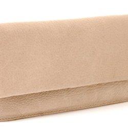 BOVARI-XL-Portefeuille-et-porte-monnaie-femme-20x11x3-cm-cuir-de-veau-supermou-vintage-sable-beige-0