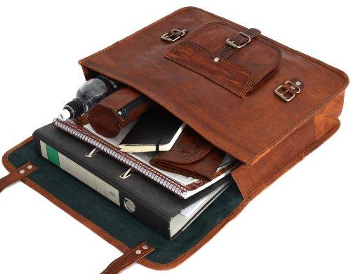 Besace Cartable Bretelles Vintage Sac Leder À Gusti Sacoche Dos D9HWE2I
