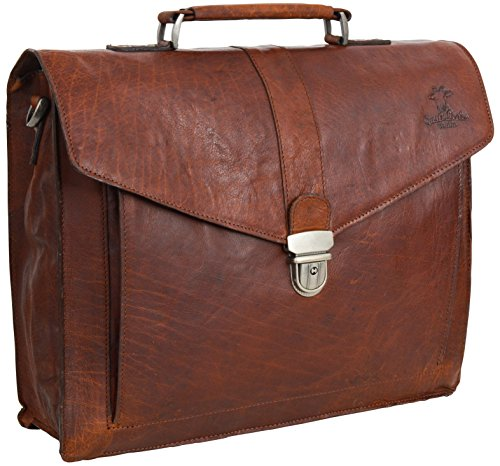 Gusti Cuir Studio Paxton Serviette En Cuir Porte Document Attache Case Malette Serviette Sac Notebook 15 6 Sac A Bandouliere Sac Avec Anses Sac