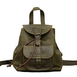 PAUL-MARIUS-petit-sac--dos-en-cuir-couleur-Vert-Olive-style-vintage-LE-BAROUDEUR-0