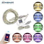 Zemismart - Guirlande lumineuse LED connectée compatible Smart Life