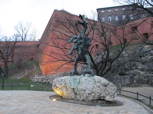 Le dragon du château de Wawel