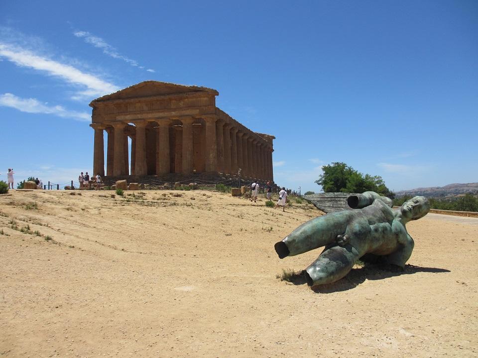 statue d'Icare - Vallée des temples à Agrigento