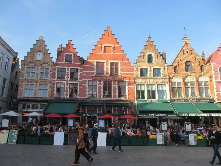 Markt, la Grand-Place de Bruges