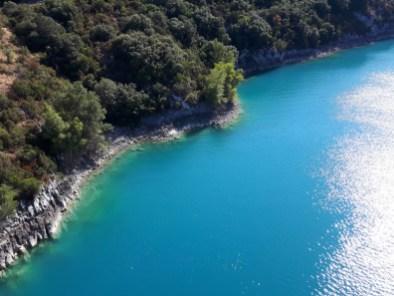vue sur le lac Sainte Croix - Gorges du Verdon