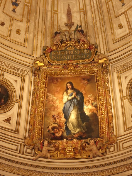 Cathédrale de Séville - La Immaculada