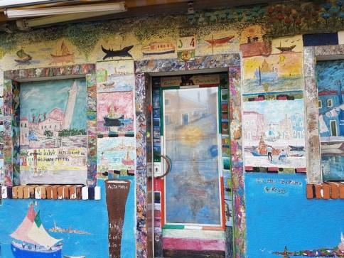 Burano street art