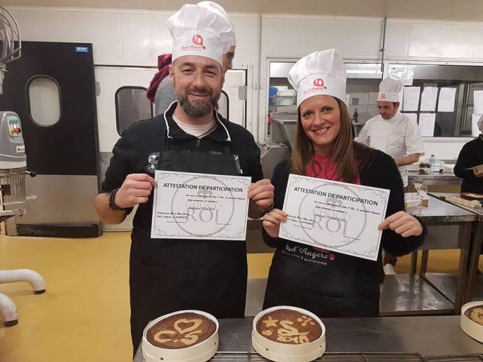 C'est officiel, nous sommes diplômés pâtissiers chez Becam