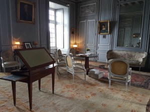 Salon Louis XVI - Château du Plessis-Bourré