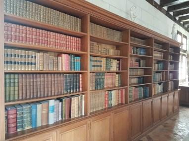 La bibliothèque du château du Plessis-Bourré