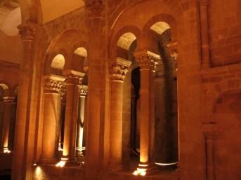 Visite en nocturne de L'Abbatiale Sainte-Foy de Conques