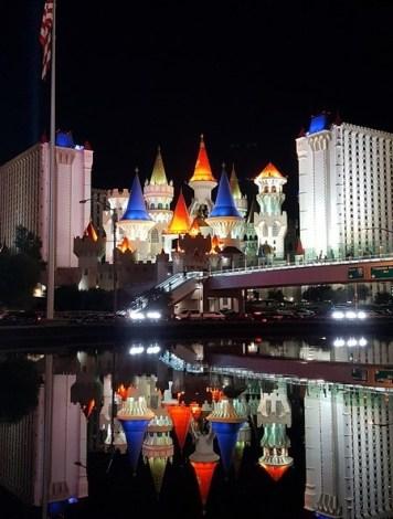 L'Excalibur à Las Vegas