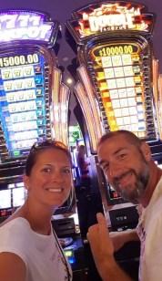 Les Amoureux du Monde au casino à Las Vegas