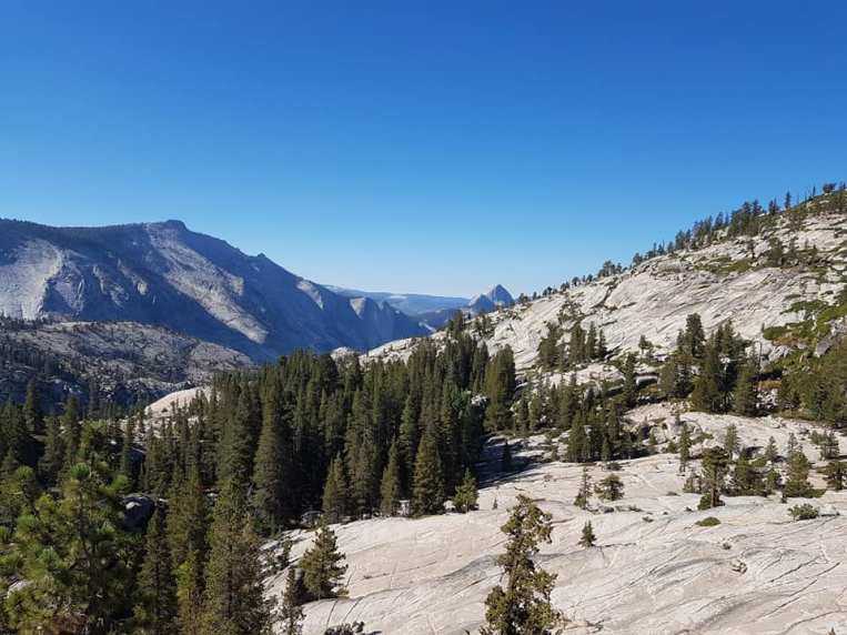 Olmsted point Yosemite