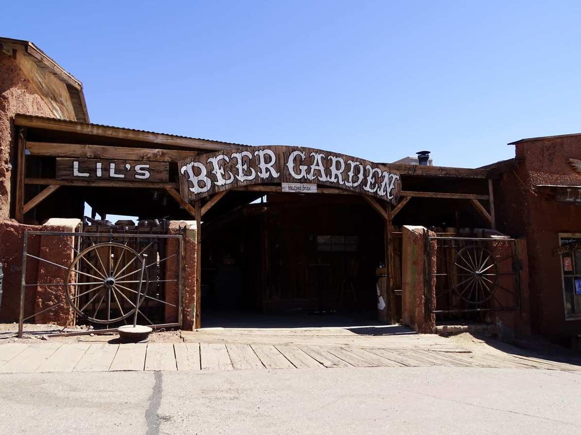 Calico ghost town - Beer garden