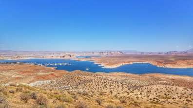 Wahweap overlook - Lac Powell