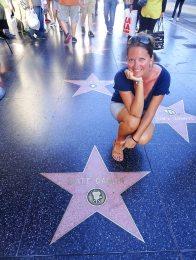 Walk of fame - Hollywood Boulevard - Los Angeles
