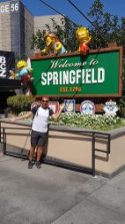 Welcome to Springfield - Universal Studios