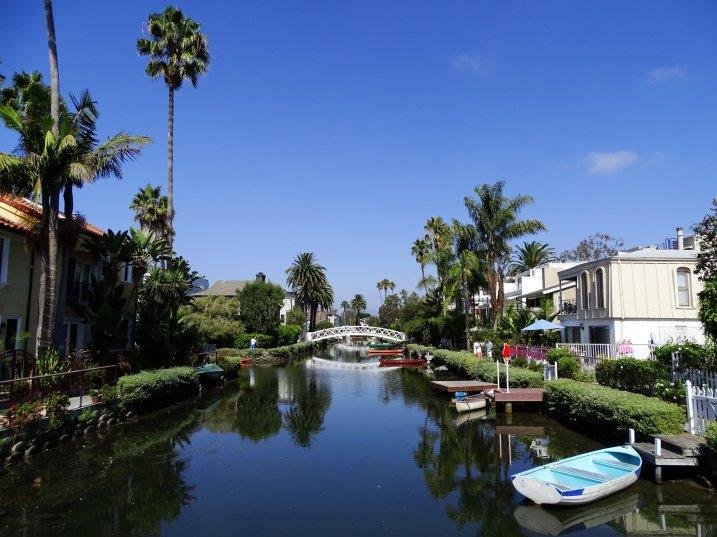 les canaux de Venice Beach