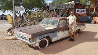 vieille voiture à Hashberry
