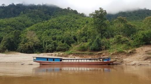 slow boat sur le Mékong
