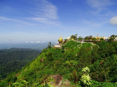 Le Rocher d'Or - Golden Rock - Birmanie