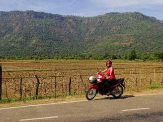 road trip à moto du plateau des Bolovens à Champassak