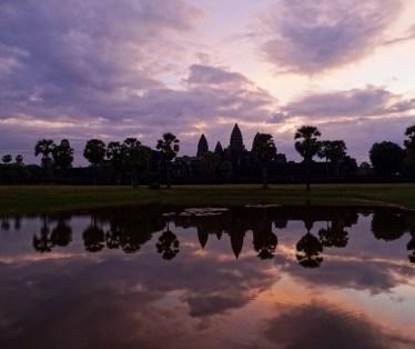 Lever de soleil sur les Temples d'Angkor - Cambodge