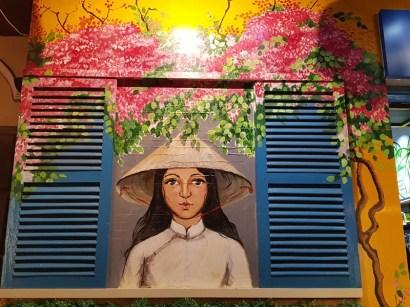 peinture dans les rues de Hoi An