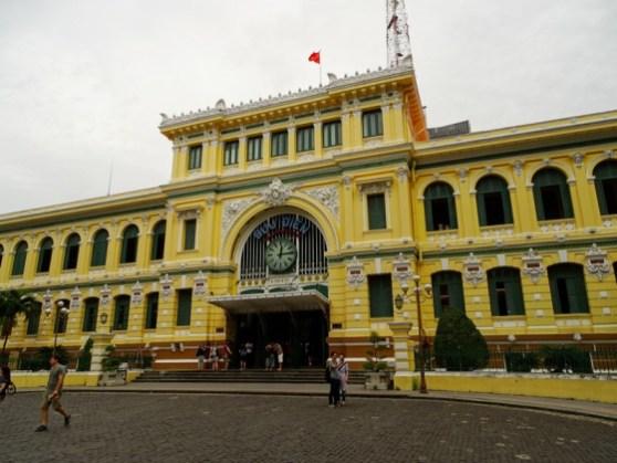 La poste de Saigon - Vietnam