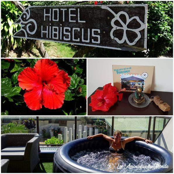 hôtel Hibiscus à Koné