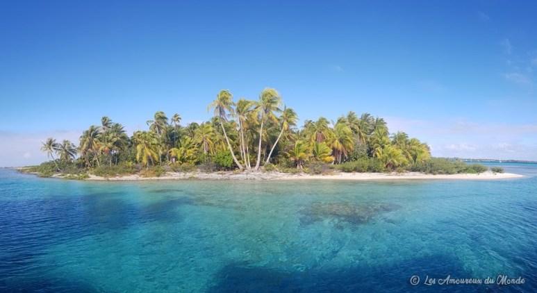 atoll à Tikehau