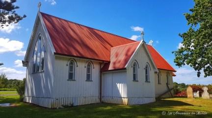 église à Kerikeri Bay of islands Nouvelle-Zélande