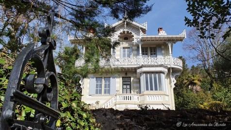 Villa Trocadero dans le quartier de la ville d'Hiver - Arcachon
