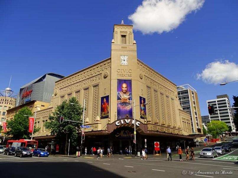 Civic theatre - Auckland - Nouvelle Zélande