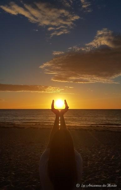 Coucher de soleil en Australie